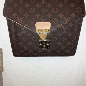 Louis Vuitton crossover satchel